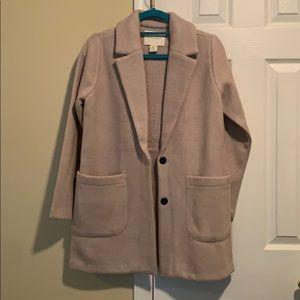 Cynthia rowley wool blazer/light coat